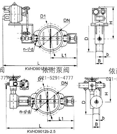 kvgd9012高温电动蝶阀图片